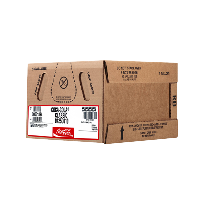 CocaCola Bag-in-Box Packaging