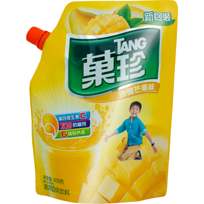FPO Tang Mango Juice packaging