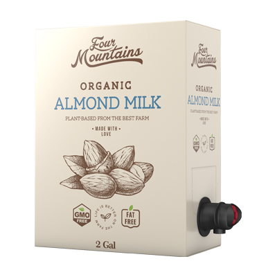 Almond Milk Box