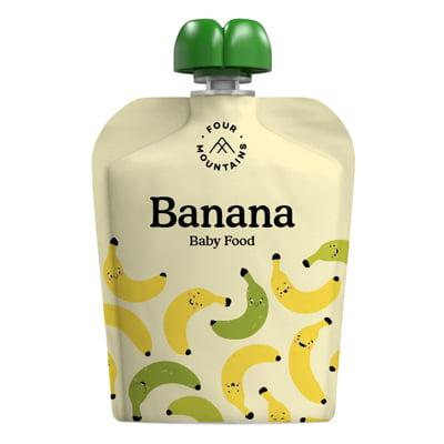 FourMountains Banana Baby Food Pouch