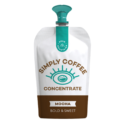 FourMountains Mocha Coffee Concentrate Pouch