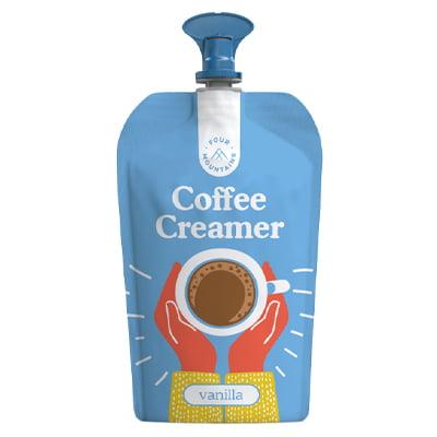 FourMountains Vanilla Coffee Creamer Pouch