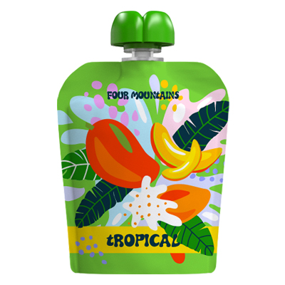 FourMountains tropical Fruit Juice Pouch