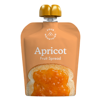 FourMountains Apricot Fruit Spread Pouch