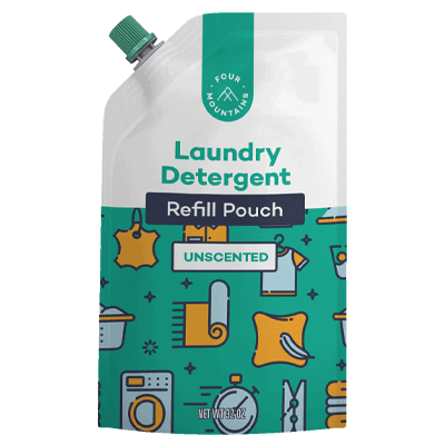 Four Mountains Laundry Detergent Pouch