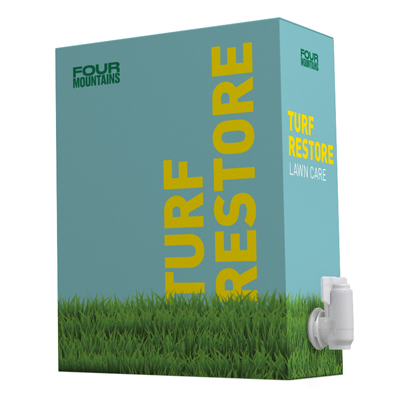 FourMountains Lawn Care Turf Restore bag-in-box