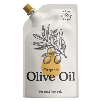 FourMountains Organic Olive Oil Corner Pouch