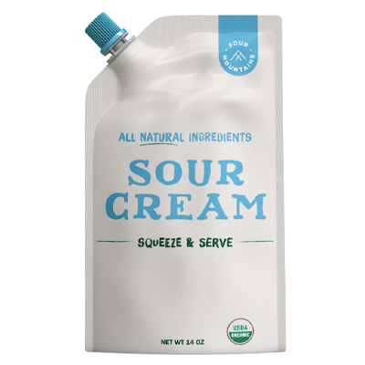 FourMountains Sour Cream Corner Squeeze and Serve Pouch