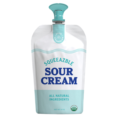FourMountains Squeezable Sour Cream Pouch