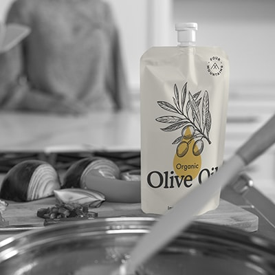 Olive Oil, Edible Oil Pouch