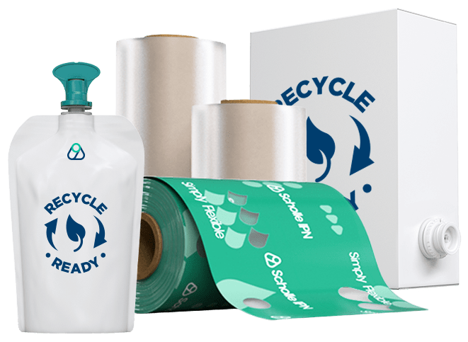 Scholle IPN Recycle-Ready Products