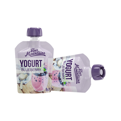 Blueberry Yogurt Pouches