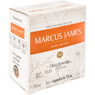 Scholle IPN Marcus James Chardonnay bag-in-box
