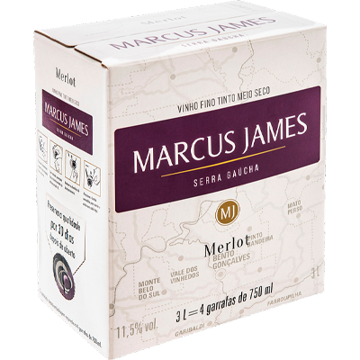 Scholle IPN Marcus James Merlot bag-in-box