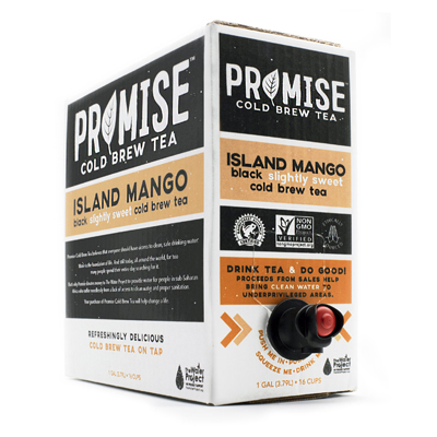 Scholle IPN Promise mango Tea Bag-in-Box