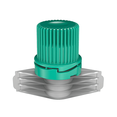 Scholle IPN 85 XLR Cap and Spout