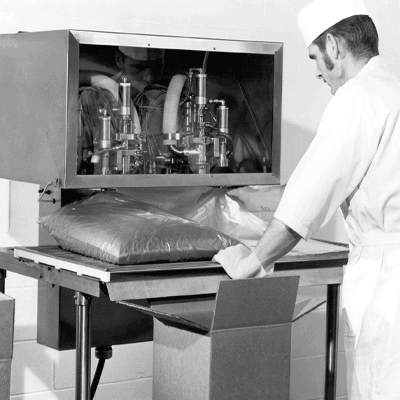 Scholle IPN Aseptic Bag-In-Box Historical Photo