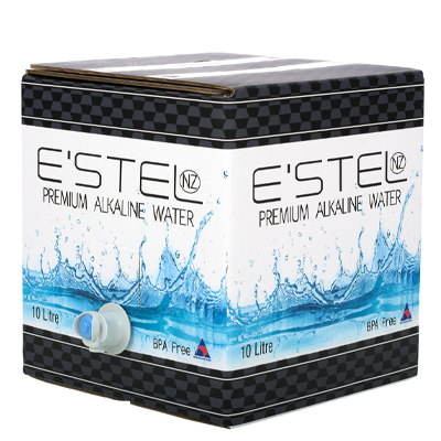ScholleIPN ESTEL alkaline water bag-in-box packaging