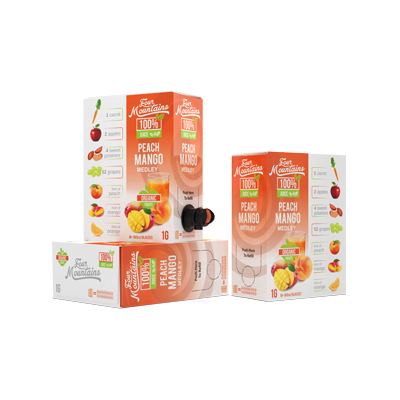 Peach Mango Juice boxes