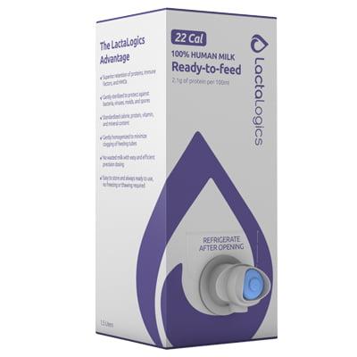 ScholleIPN baby milk bib lactalogics purple