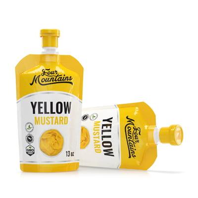 ScholleIPN condiments mustard pouch