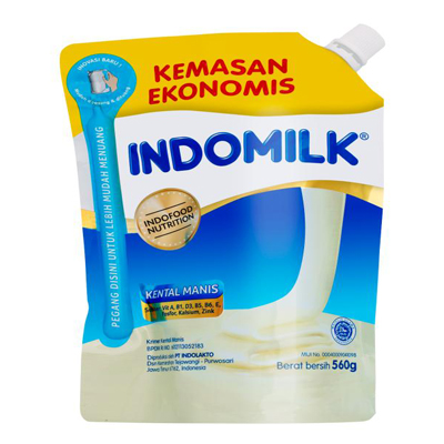 ScholleIPN spouted Indomilk pouch