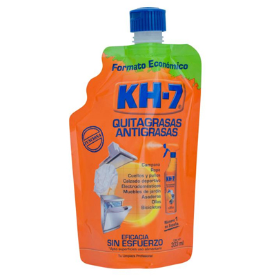 ScholleIPN spouted pouch Bossar KH7 degreaser packagingFPO