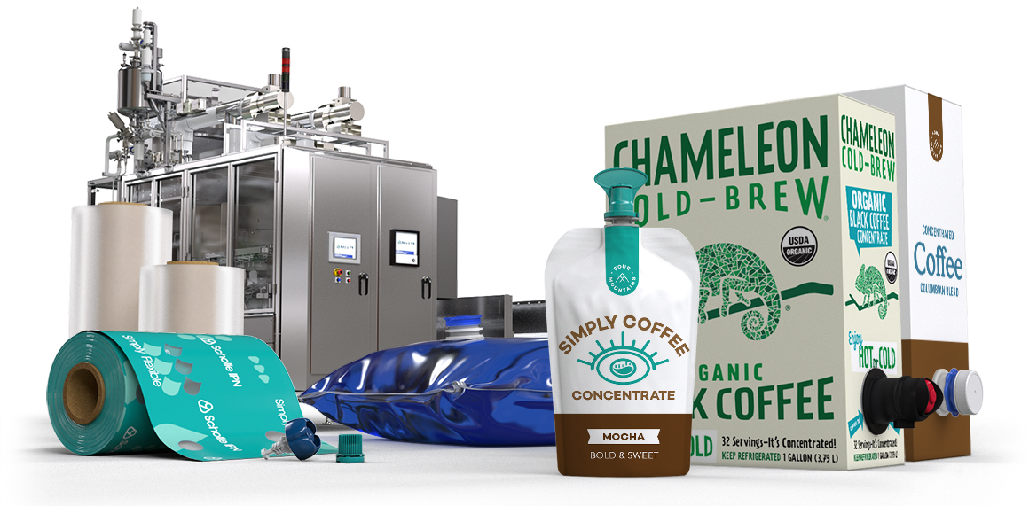 Scholle IPN Cold Brew Coffee Packaging