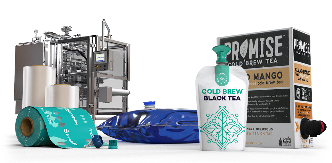 Scholle IPN Cold Brew Tea Packaging