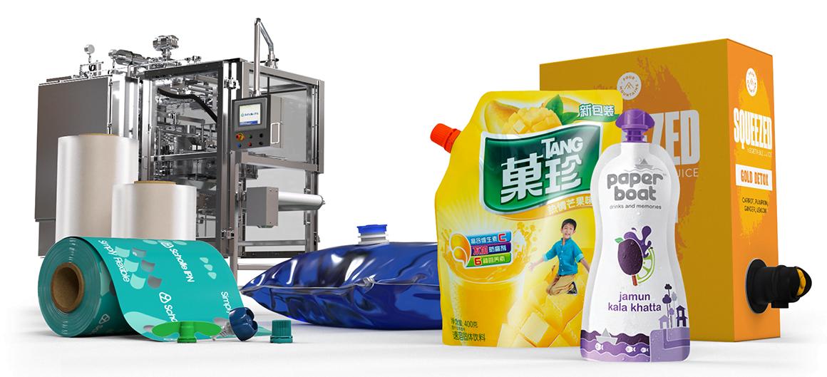 ScholleIPN juice packaging