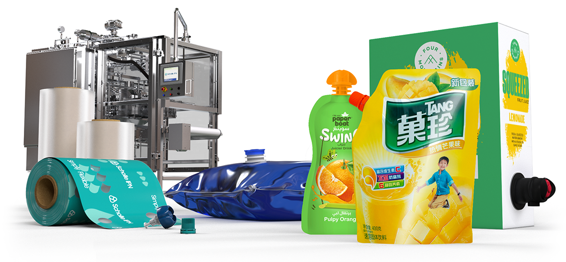 ScholleIPN fruit juice packaging