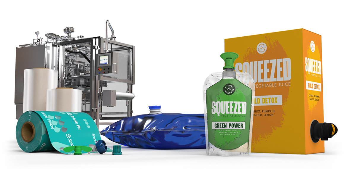 ScholleIPN juice and vegetable juice Packaging