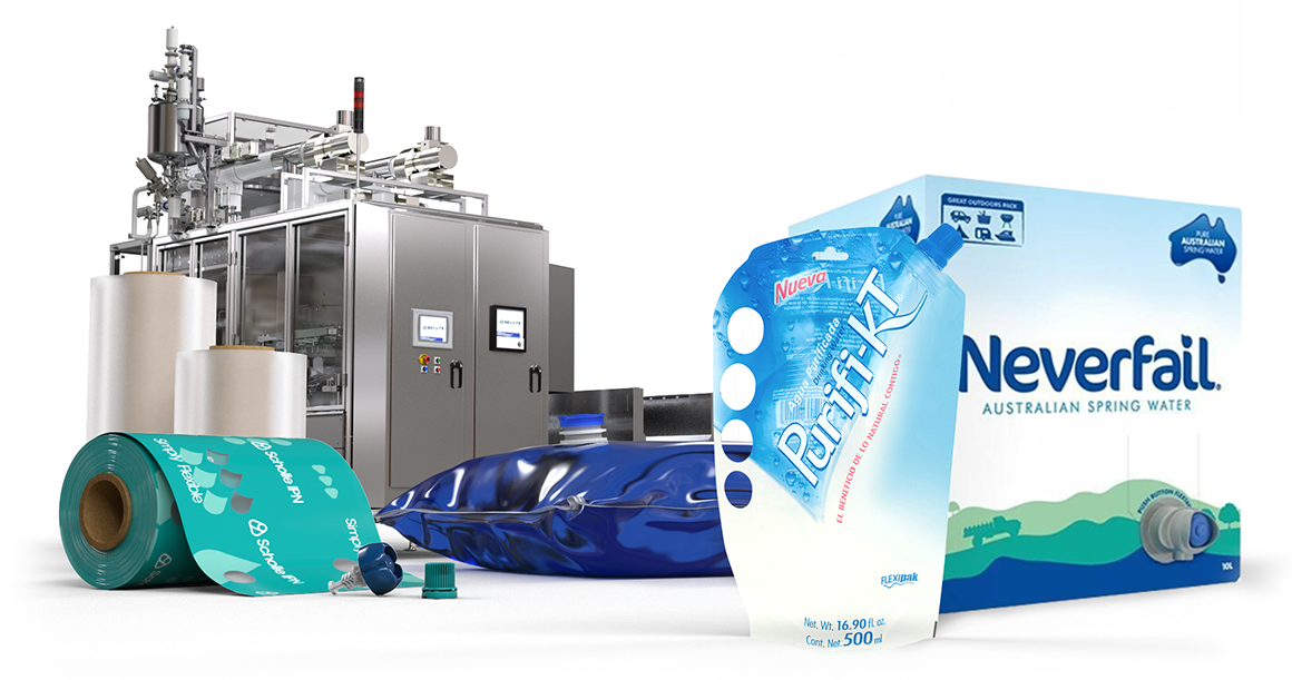ScholleIPN water packaging