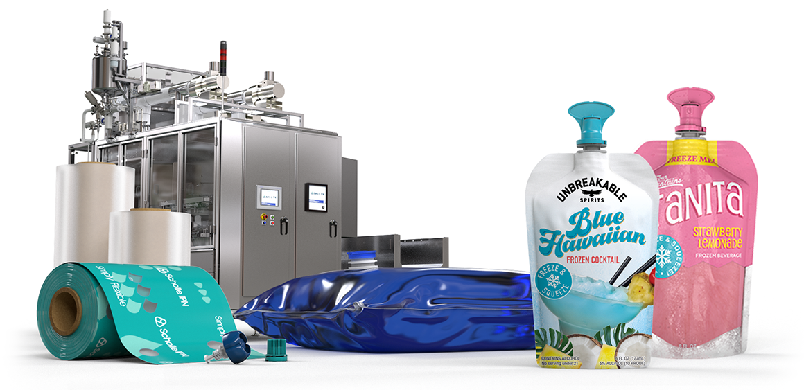 ScholleIPN frozen-beverages packaging