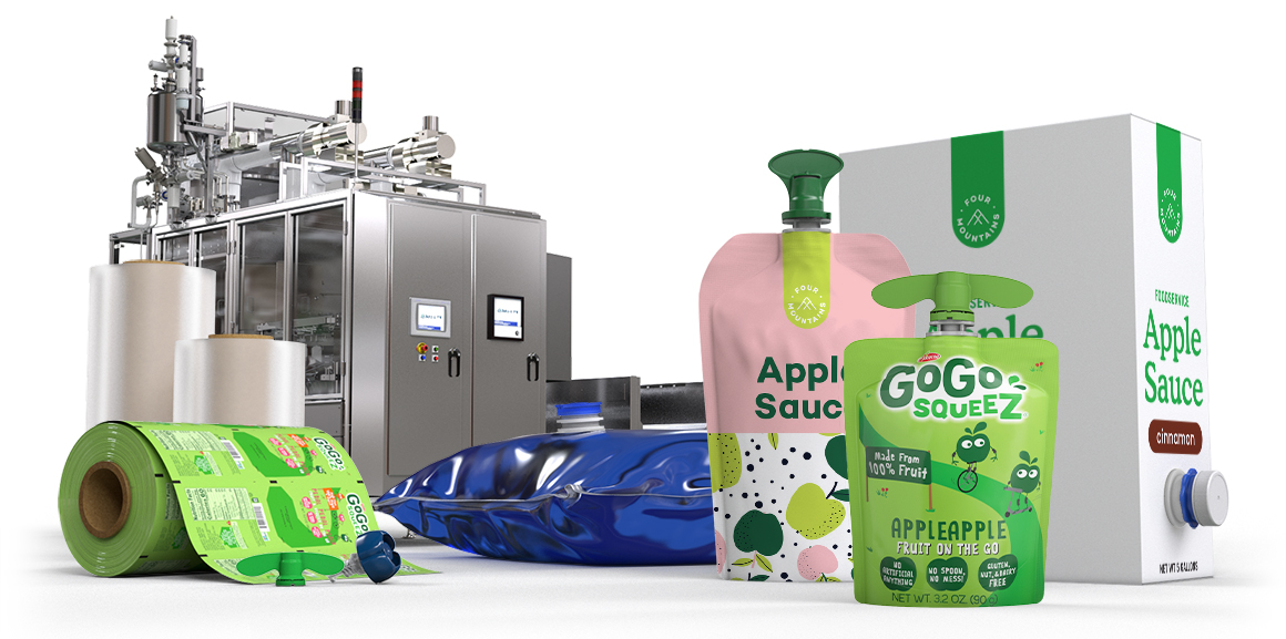 Scholle IPN Applesauce Food Packaging