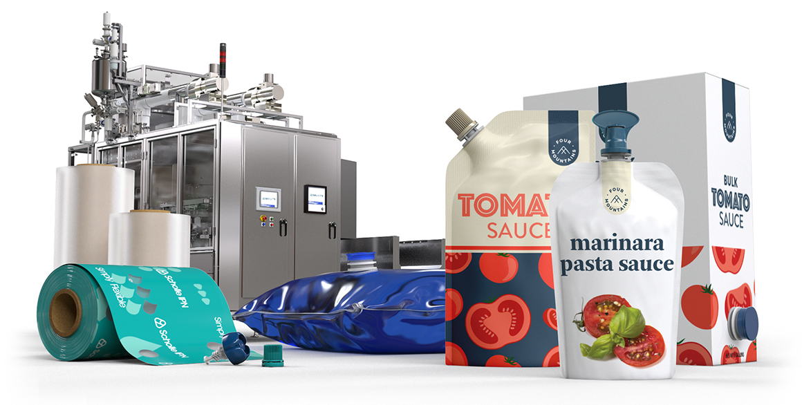 Scholle IPN Tomato Packaging