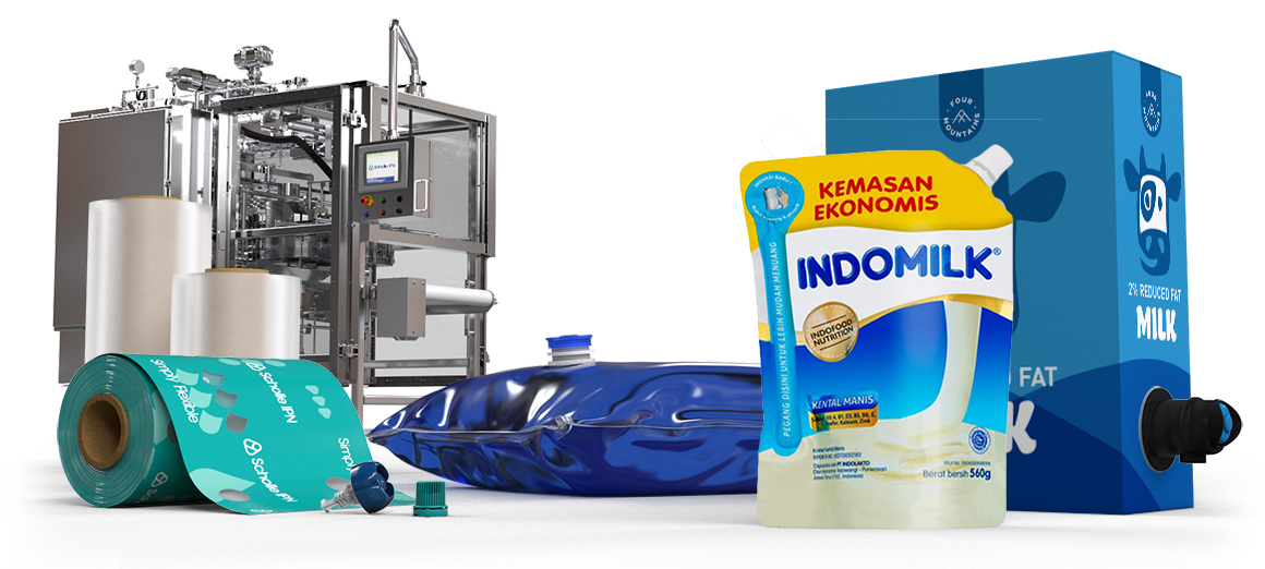 Scholle IPN Milk Packaging