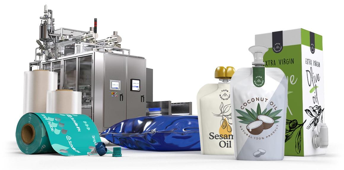 Scholle IPN Cooking Oil Packaging