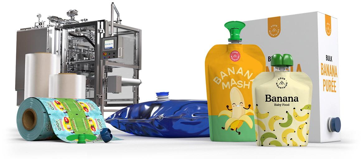 Scholle IPN Banana Packaging