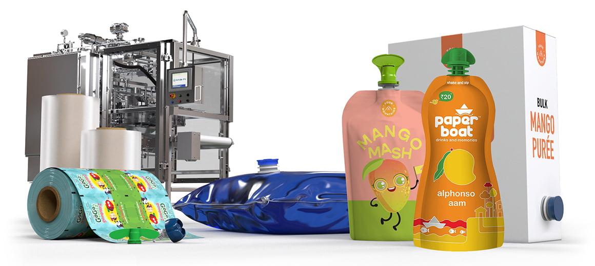 Scholle IPN Mango Packaging