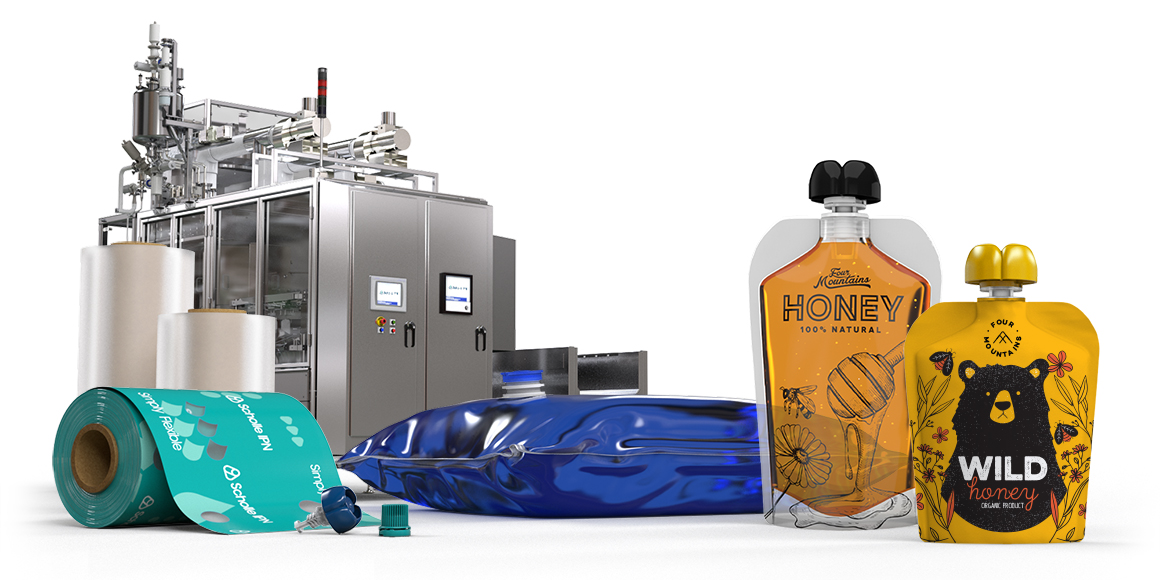 Scholle IPN Honey Packaging
