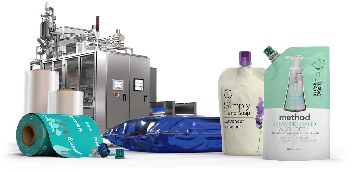 Scholle IPN Hand Soap Packaging