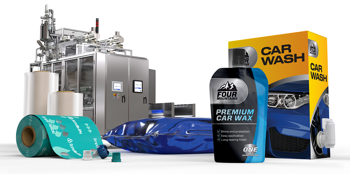 ScholleIPN vehicle-care Packaging
