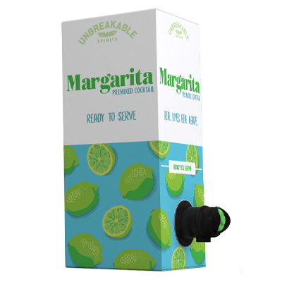 Unbreakable Spirits Margarita bag-in-box