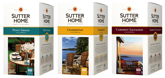 Sutter Home Boxed Wine